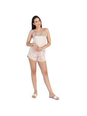 Amelia Sleepwear Ruth Silk Cami Shorts Pajamas Set