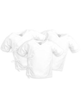 Cotton Stuff Short Sleeve Tie-Side (3pcs)