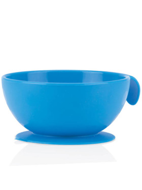 Nuby Sure Grip Silicone Suction Baby Feeding Bowl