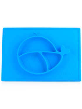 Nuby Sure Grip Silicone Suction Baby Feeding Plate Mat