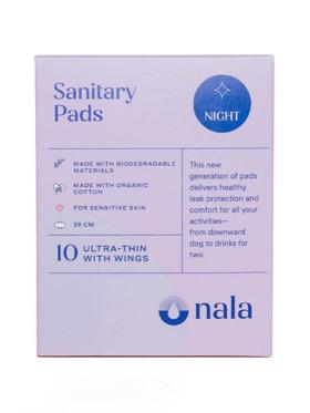 Nala Woman Biodegradable Night Pads (10s)
