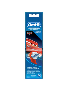 Oral-B Cars Vitality Electric Toothbrush Refill