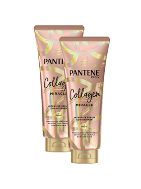 Pantene Collagen Miracle Conditioner 2-Pack (300ml)