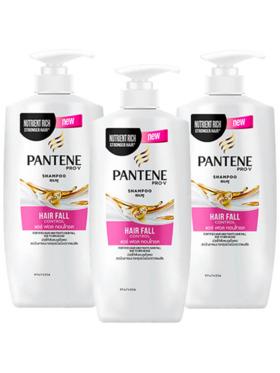 Pantene Hair Fall Control Shampoo 3-Pack (450ml)