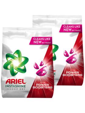 Ariel Platinum Indoor Dry Laundry Powder Detergent 2-Pack (1.32kg)