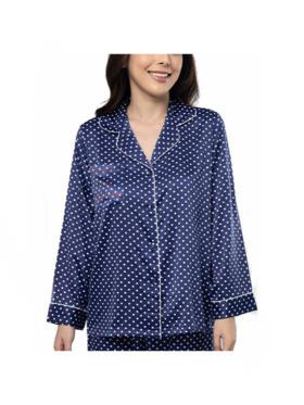 Amelia Sleepwear Ariana Silk Pants Sleepwear Set
