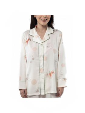 Amelia Sleepwear Bailey Silk Pants Sleepwear Set