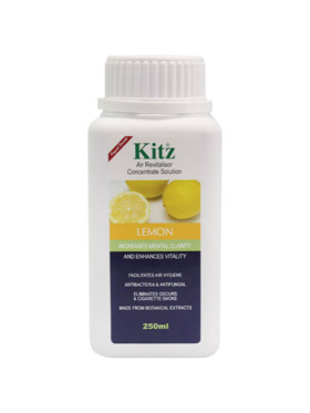 Kitz Lemon Concentrate Solution (250ml)
