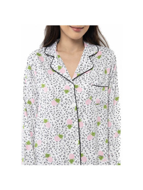 Amelia Sleepwear Ella Cotton Pants Sleepwear Set