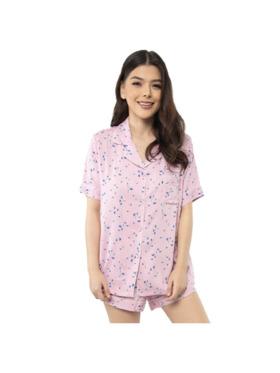 Amelia Sleepwear Emily Cotton Shorts Sleepwear Set