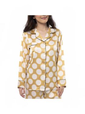 Amelia Sleepwear Grace Silk Pants Sleepwear Set