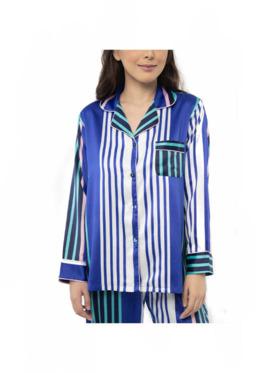 Amelia Sleepwear Kennedy Silk Pants Sleepwear Set