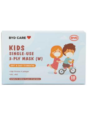BYD Kids Face Masks (50pcs)