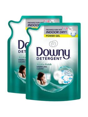 Downy Kontra Kulob Liquid Laundry Detergent 2-Pack Refill (2.4kg)