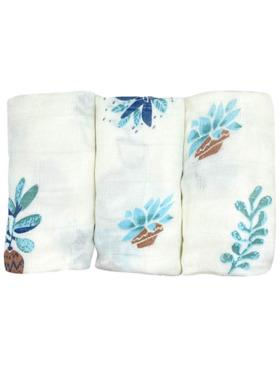 Hankoo Potted Plants Basic- Lightweight Washcloth (Set of 3)