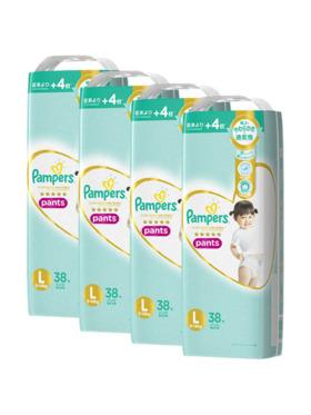 Pampers Premium Care Pants Large 4-Pack (4 x 38pcs) - Subscription