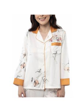 Amelia Sleepwear Sadie Silk Pants Sleepwear Set