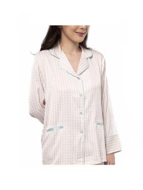 Amelia Sleepwear Sophia Silk Pants Sleepwear Set