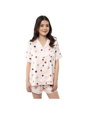 Amelia Sleepwear Trisha Silk Shorts Sleepwear Set