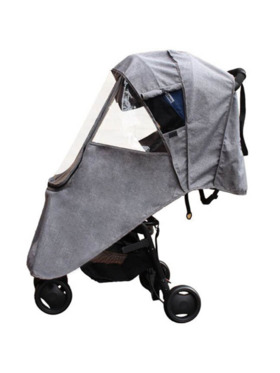 Lil Bear Finds Universal Stroller Cover