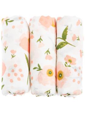BabyStudioPH Flower 100% Cotton Swaddle
