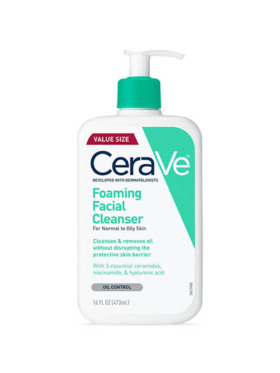 CeraVe Foaming Facial Cleanser (473mL)