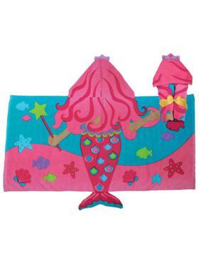 Stephen Joseph Hooded Towel - Mermaid