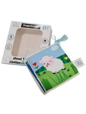 Infantway Huggabooks Visual Training and Activity Cloth Book Bumper