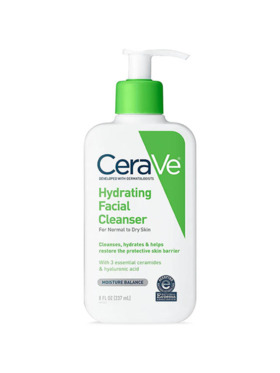 CeraVe Hydrating Facial Cleanser (237mL)