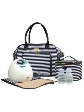 Bebe Chic Manhattan Deluxe Breast Pump Bag