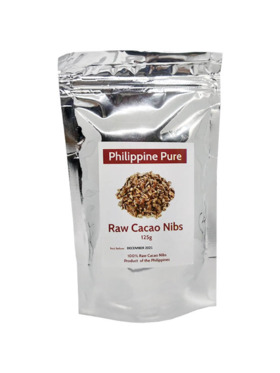 Philippine Pure Raw Cacao Nibs (125g)