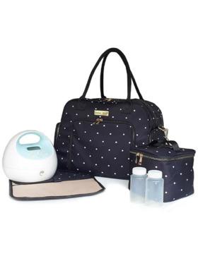 Bebe Chic Stardust Deluxe Breast Pump Bag