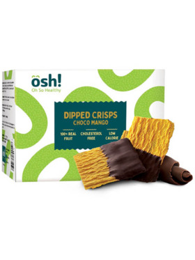 Oh So Healthy! Dipped Crisps Choco Mango (100g)