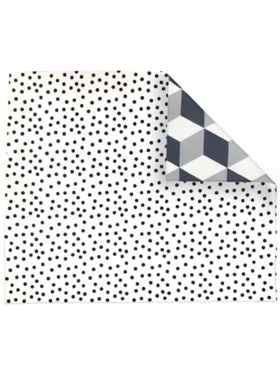 Play WIth Pieces Geo Polka Reversible Playmat