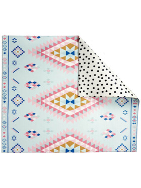 Play WIth Pieces Moroccan Reversible Playmat