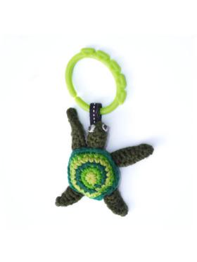 LittleDeity.PH THE HERD Turtle Handmade Plushy & Bagtag