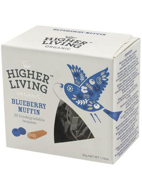 Higher Living Blueberry Muffin 20 teapees (50g)