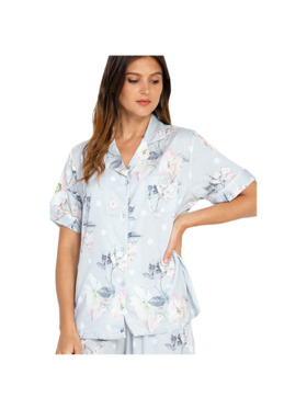Amelia Sleepwear Cheska Silk Shorts Sleepwear Set