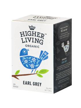 Higher Living Earl Grey 20 bags (45g)