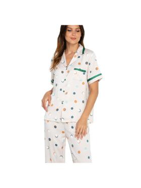 Amelia Sleepwear Eden Silk Pants Sleepwear Set