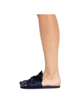 Amelia Sleepwear Kate Silk Satin Slip-ons