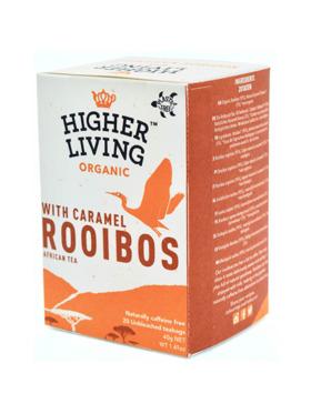 Higher Living Rooibos Caramel 20 bags (28g)