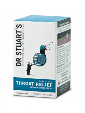 Dr Stuart's Throat Relief 15 bags (24g)