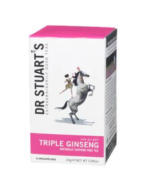 Dr Stuart's Triple Ginseng 15 bags (24g)