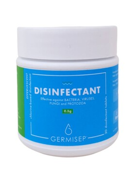 Germisep Disinfectant 5g (30 Tablets)