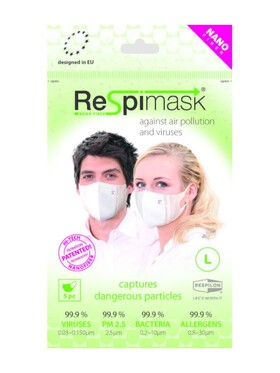 Respilon Respimask for Adult Large (Pack of 5)