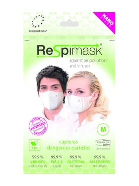 Respilon Respimask for Adult Medium (Pack of 5)