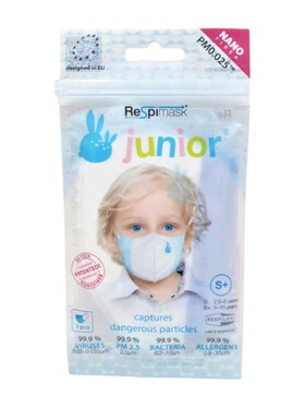 Respilon Respimask for Kids Small+ (Pack of 3)