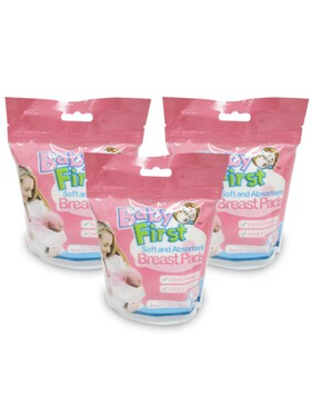 Baby First Breastpad Bundle of 3 (12 pads)