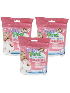 Baby First Breastpad Bundle of 3 (6 pads)